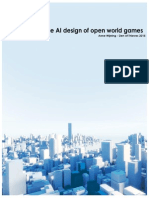 research on the ai design in open world games