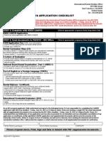 Pacfic Arthur Checklist