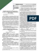 Decreto Legislativo Nº 1177