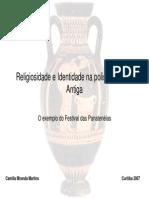 Religiosidade e Identidade Na Pólis Da Grécia Antiga