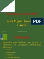 22992892 Presentacion Word 2007
