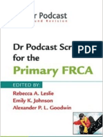 Dr Podcast Scripts for the Primary Frca
