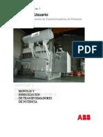 Manual Usuario Transformadores de Potencia