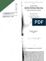 Simmel El Problema de La Sociología