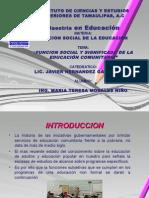 2 Funcionsocialyeducacioncomunitaria 120522233805 Phpapp01