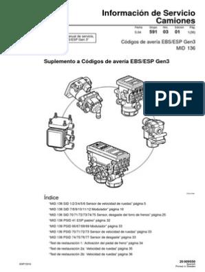 59  MID 136  Codigo averias EBS pdf   Eje   Sistema