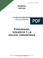 Libro de Comunidad, Violencia y Policía Comunitaria