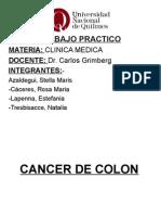 Presentacion Cancer de Colon 1