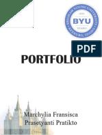 COMM130 Project9Portfolio MarchyliaPratikto