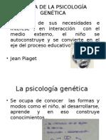 Teoría de La Psicología Genética