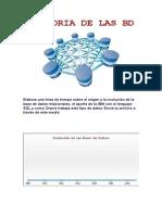 Historia de Las Base de datos