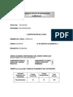 Formato Oficial de Microdiseño Curricular