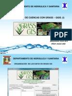 Delimitacion de Cuencas Qgis Grass
