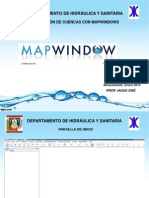 Delimitación de Cuencas MapWindows