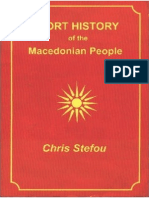 Short History of the Macedonian People - Risto Stefov