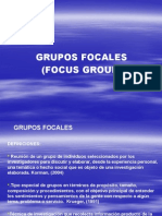 Presentacion de Focus Group