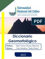 Glosario Geomorfológico