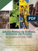 Arboles Nativos de Orellana Amazonia Dle Ecuador