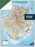 Mapa de Gran Canaria 2014