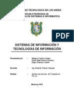 Sistemas de Información y Tecnologías de Información