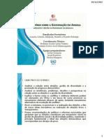Relatório Sobre Governação