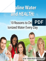 Alkaline Water and Health eBook