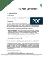 Cap 2 1 Senales Verticales Generalidades
