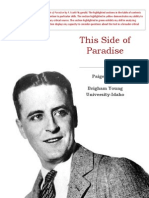 this side of paradise annotated portfolio