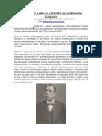 6 - Federico Villarreal, Cientifico y Astronomo Peruano