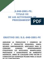 Titulo 7 Del Ds 040 2001 Pe
