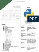 Python - Wikipedia, la enciclopedia libre.pdf