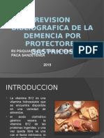 Revision Bibliografica de La Demencia Por Omeprazol Dr. Paca