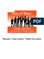 Resume, Cover, Thank You - 2 Years Exp