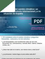 Presentación cambio climático ESRP