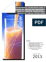 Procesamiento Tecnológico Para La Elaboración Del Néctar Con Propiedades Médicas a Base de Passiflora Edulis Maracuyá y Morida Citrifolia Noni