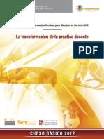 La Transformacion de La Practica Docente2012