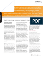 Hitachi Datasheet Shadowimage Heterogeneous Replication Software