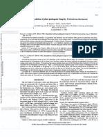Degradation of Plant Pathogenic Fungi by Trichoderma Hamianum