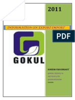 Export Import Information