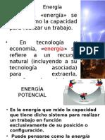 Energía.- Concepto y Clases