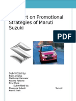 52392026 Maruti Suzuki Promotional Strategies Copy