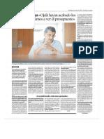 Heraldo de Aragón entrevista a Sebastián Celaya, consejero de sanidad de la DGA