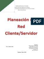 Planeacion de Una Red Cliente-servidor