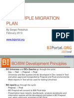 BO Sample Migration Plan