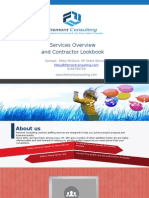 Fremont Consulting Service Overview Contractor Lookbook