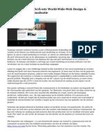 Het Belang Van Efficiënte World-Wide-Web Design & Lookup Motor Optimalisatie