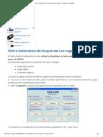 Cierre Automatico de Las Puertas Con Vagcom - Vagcom en Español