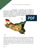 Sicilia Regione, Comuni e Province in Default e Se La Germania Si Prendesse l'Isola