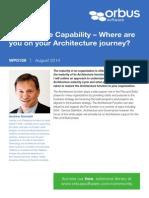 Wp0159 Architecture Capability