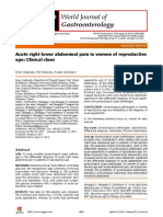 Acute Right Lower Abdominal Pain in Women